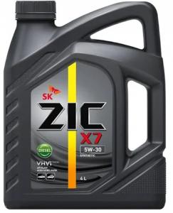 Масло моторное Zic X7 Diesel 5W-30 синт. API CI-4 4л