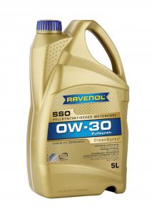 Масло моторное Ravenol SSO 0W-30 API SN синт. 5л