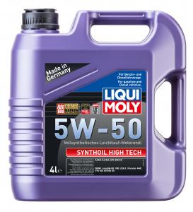 Масло моторное Liqui Moly Synthoil High Tech 5W-50 синт. API SM/CF 4л