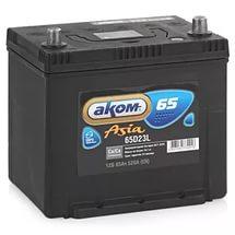 Аккумулятор Аком ASIA 65а/ч (65D23L) EN 570 о/п